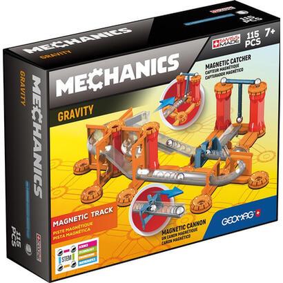 geomag-mechanics-gm772-juguete-de-iman-de-neodimio-115-piezas-azul-naranja-rojo-plata