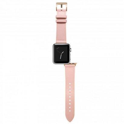 unotec-correa-cuero-rosa-para-apple-watch-3840-mm