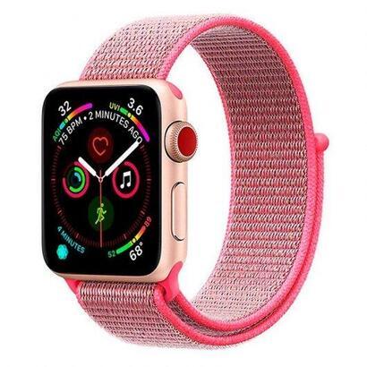 cool-correa-loop-nylon-rosa-para-apple-watch-series-12345-4244-mm