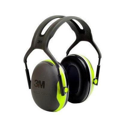 3m-peltor-earmuffs-x-series-adulto-negro-verde-diadema-37-db