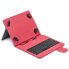 funda-tablet-maillon-urban-keyboard-usb-97-102-rojo