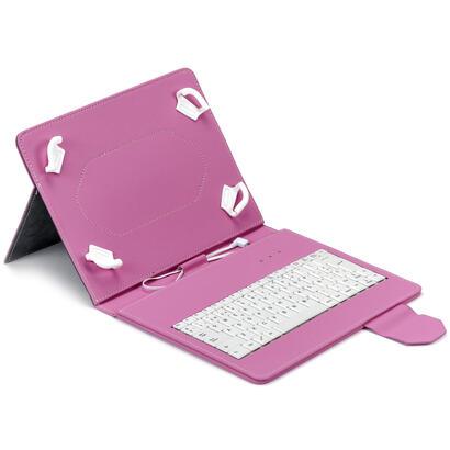 funda-tablet-maillon-urban-keyboard-usb-97-102-rosa
