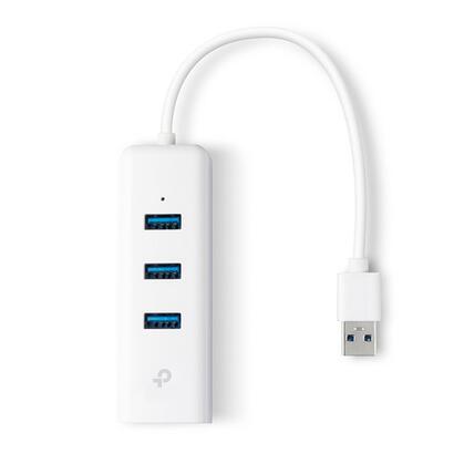 tp-link-conversor-ue330-de-usb30-a-ethernet-gigabit-con-hub-3p-usb30