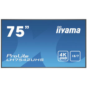 iiyama-1893cm-75-lh7542uhs-b1-169-hdmidpdvi-4k-speditionsversand