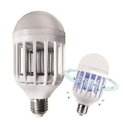 bombilla-led-mata-mosquitos-jocca-1047-9q-e27-luz-uv-azul-rejilla-alto-voltaje-area-actuacion-500m2