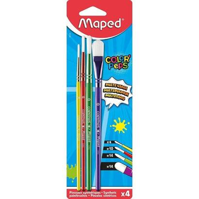 set-4-pinceles-maped-color-peps-867810-3-redondos-1-plano-mangos-madera-de-colores