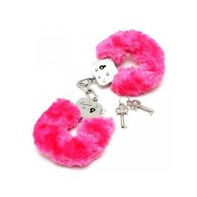esposas-metalicas-con-pelo-rosa