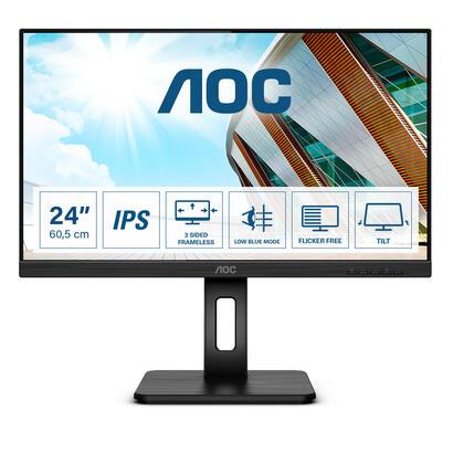 monitor-aoc-238-24p2q-1609-dvihdmidpusb-black
