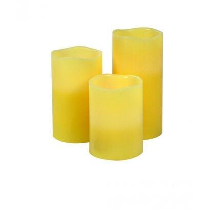 set-3-velas-con-luz-led-y-aroma-jocca-2276-temporizador-hasta-8h-incluye-mando-a-distancia
