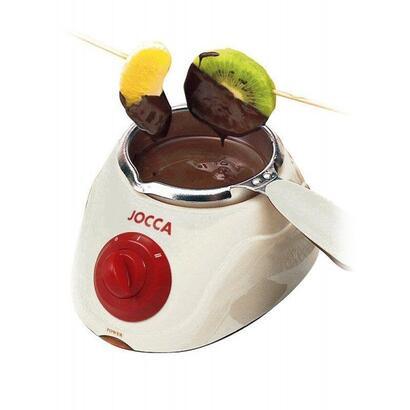 chocolatera-jocca-4388b-blanca-25w-recipiente-extraible-240ml-2-posiciones-temperatura-accesorios-segun-especificaciones