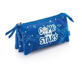estuche-portatodo-triple-miquel-rius-18775-stars-mr-capacidad-para-70-piezas-doble-cierre-cremallera