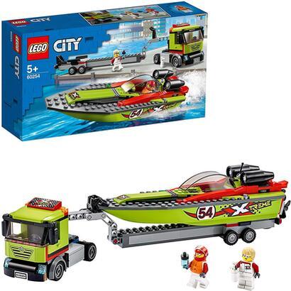 lego-city-great-vehicles-transporte-de-la-lancha-de-carreras-flota-en-el-agua-incluye-minifigura-de-un-conductor-de-camion-y-un-