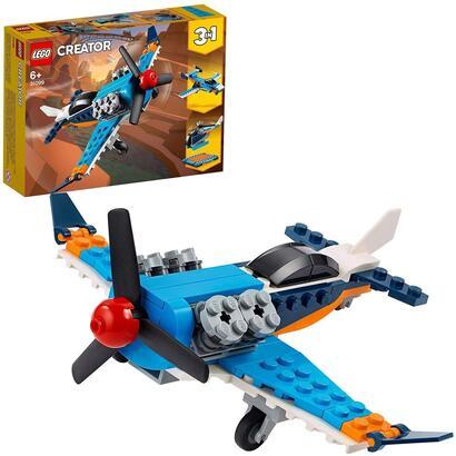 lego-creator-avion-de-helice-set-3-en-1-de-juguete-para-construir-un-jet-un-helicoptero-y-un-avion-31099