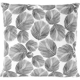 funda-de-almohada-nielsen-hojas-45x45-blanco-gris-rayas-grises-401128