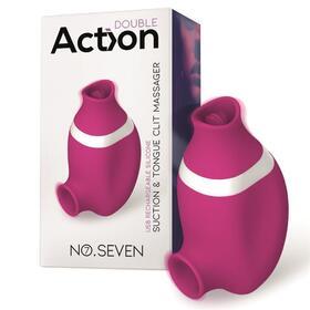 no-seven-2-en-1-succionador-de-clitoris-y-lengua-estimuladora-usb-silicona