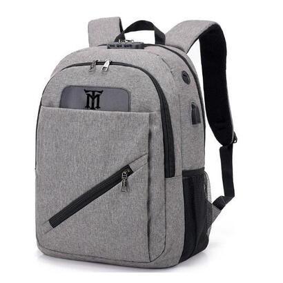 mochila-maillon-backpack-ginebra-usb-16-gris