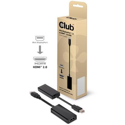 adaptador-club-3d-mini-displayport-a-hdmi-20-activo