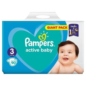pampers-active-baby-panales-talla-3-6-10kg-90pcs