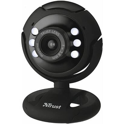 trust-webcam-pro-13-mpx-con-microfono-y-luces-led