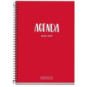 agenda-escolar-miquel-rius-26105-plus-school-4sv-rojo-155213mm-semana-vista-septiembre-junio-2020-papel-extra-opaco-70grm2