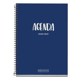 agenda-escolar-20202021-miquel-rius-26106-school-plus-marino-sept-20agosto-21-semana-vista-155213mm-70gm2-encuadernacion-espiral