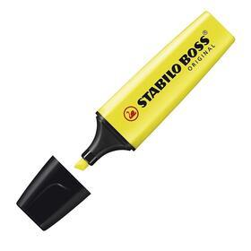stabilo-boss-arcador-fluorescente-punta-biselada-amarillo
