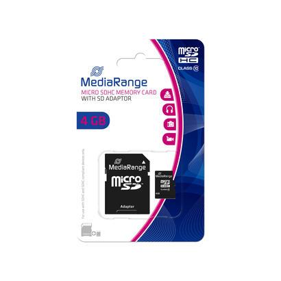mediarange-sd-microsd-card-4gb-sd-cl10-inkl-adapter