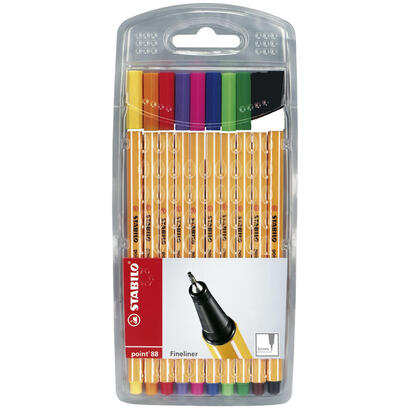 stabilo-estuche-de-rotuladores-punta-fina-04mm-point-88-con-10-colores-point
