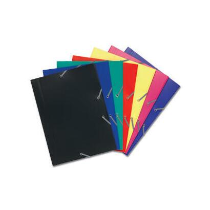 exaclaira-carpetaa-de-gomas-pp-opaco-a4-azul-3-solapas-hasta-150-hojas-de-80-gr-24x32-cm
