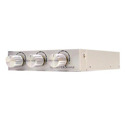 silverstone-fp33s-silver-frontal-regulador-de-ventiladores