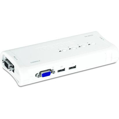 trendnet-kvm-conmutador-usb-teclado-raton-4-puertos-tk-407k-tk-407k-kit-de-conmutador-kvm-usb-de-4-puertos