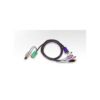 aten-usb-kvm-cable-3m-2l-5303uu-aten-usb-kvm-cable-3-m-negro-male-connector-male-connector-1x-15-pin-hdb-m-2x-usb-a-m-2x-35mm