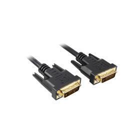 sharkoon-3m-dvi-d-to-dvi-d-241-cable-dvi-negro