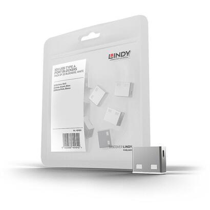 lindy-usb-port-blocker-pack-10-sistema-de-seguridad