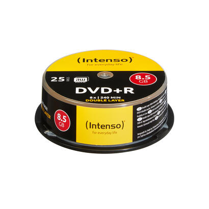 dvdr-intenso-85gb-25pcs-cakebox-double-layer-8x-retail