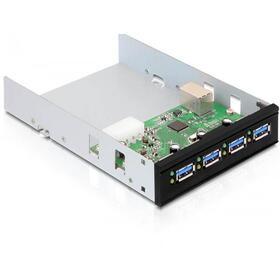delock-61833-panel-4-port-usb30-para-35525-negro