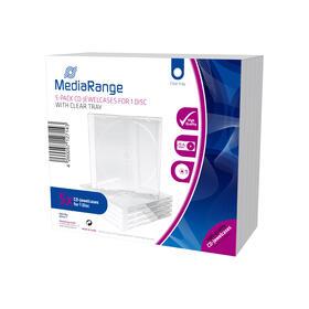 mediarange-box31-t-funda-para-discos-opticos-caja-transparente-para-cd-1-discos-transparente-5-uds