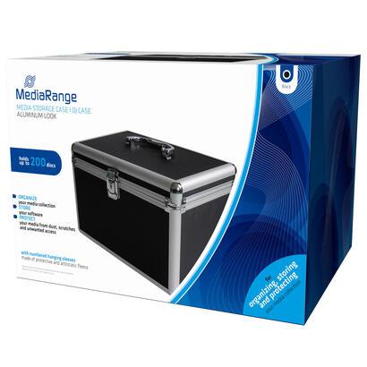 mediarange-box71-funda-para-discos-opticos-maleta-rigida-200-discos-negro