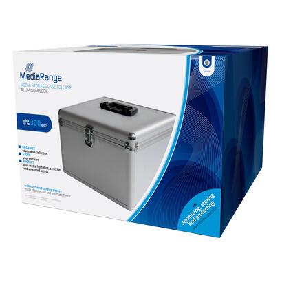 mediarange-box76-funda-para-discos-opticos-maleta-rigida-300-discos-plata