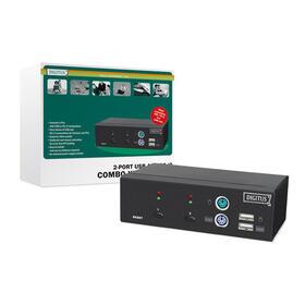 kvm-digitus-switch-1user-2-pc-por-ps2-o-usb-inclu-2-cable-set-18m