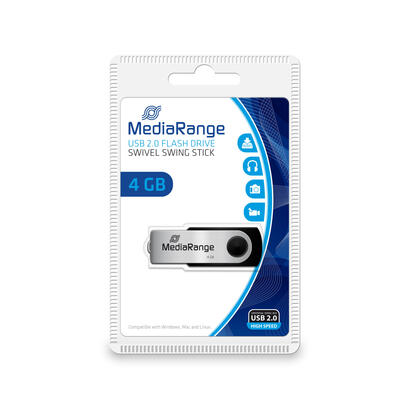 mediarange-mr907-unidad-flash-usb-4-gb-usb-type-a-micro-usb-20-negro-plata