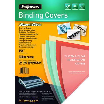 pack-de-100-portadas-de-pvc-transparente-fellowes-5376102-tamano-a4-200-micras-color-transparente