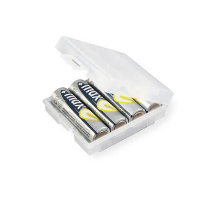 ansmann-4000740-caja-de-bateria-transparente-blanco