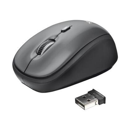 trust-raton-optico-inalambrico-yvi-24ghz-800-1600-dpi-gris-y-negro