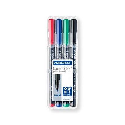 rotulador-permanente-lumocolor-punta-1mm-317-estuche-cuatro-unidades-staedtler