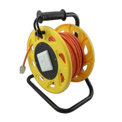 logilink-carrete-cable-cat-7a-conector-keystone-jack-90m-naranja-cq5090s