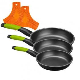 bra-lote-3-sartenes-prior-a121460-18cm-22cm-y-26cm-espesor-5mm-aluminio-fundido-teflon-antiadherente