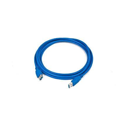 gembird-cable-usb-30-aa-alargo-180m-mh-azul-ccp-usb3-amaf-6