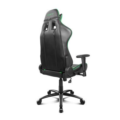 drift-silla-gaming-dr150bg-negro-verde-incluye-cojines-cervical-y-lumbar-dr150bg