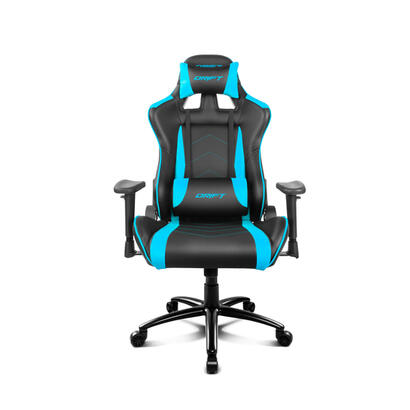 drift-silla-gaming-dr150bl-negro-azul-incluye-cojines-cervical-y-lumbar-dr150bl